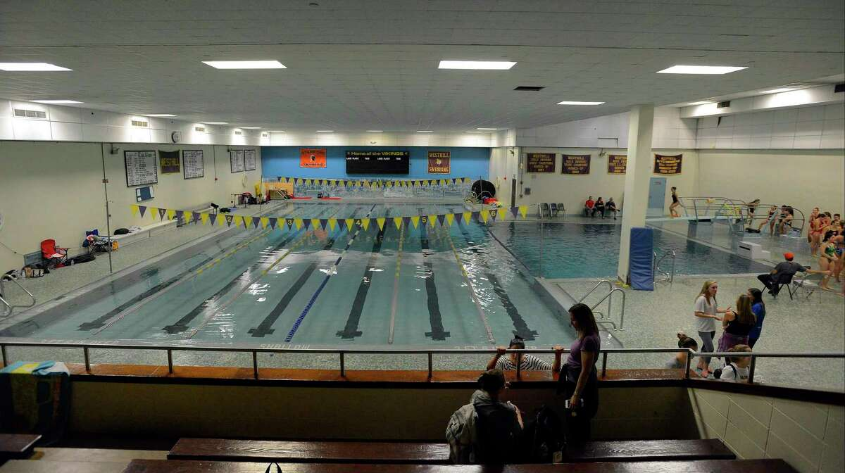 Westhill High School pool on Wednesday, Nov. 2, 2016.