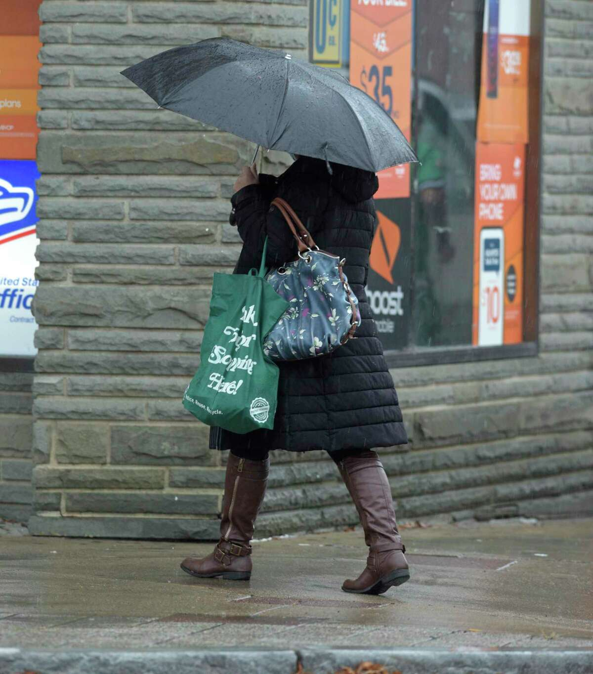 The rain is expected to start by late Sunday afternoon and increasing overnight, according to the National Weather Service.