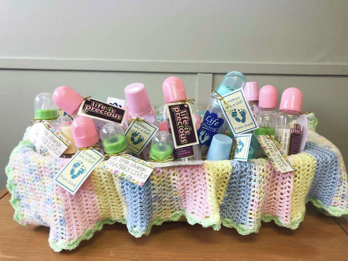 The Lighthouse Pregnancy Care Center is holding the annual Baby Bottle Blitz fundraiser. It started on Mother's Day and goes through Father's Day. (Courtesy photo)