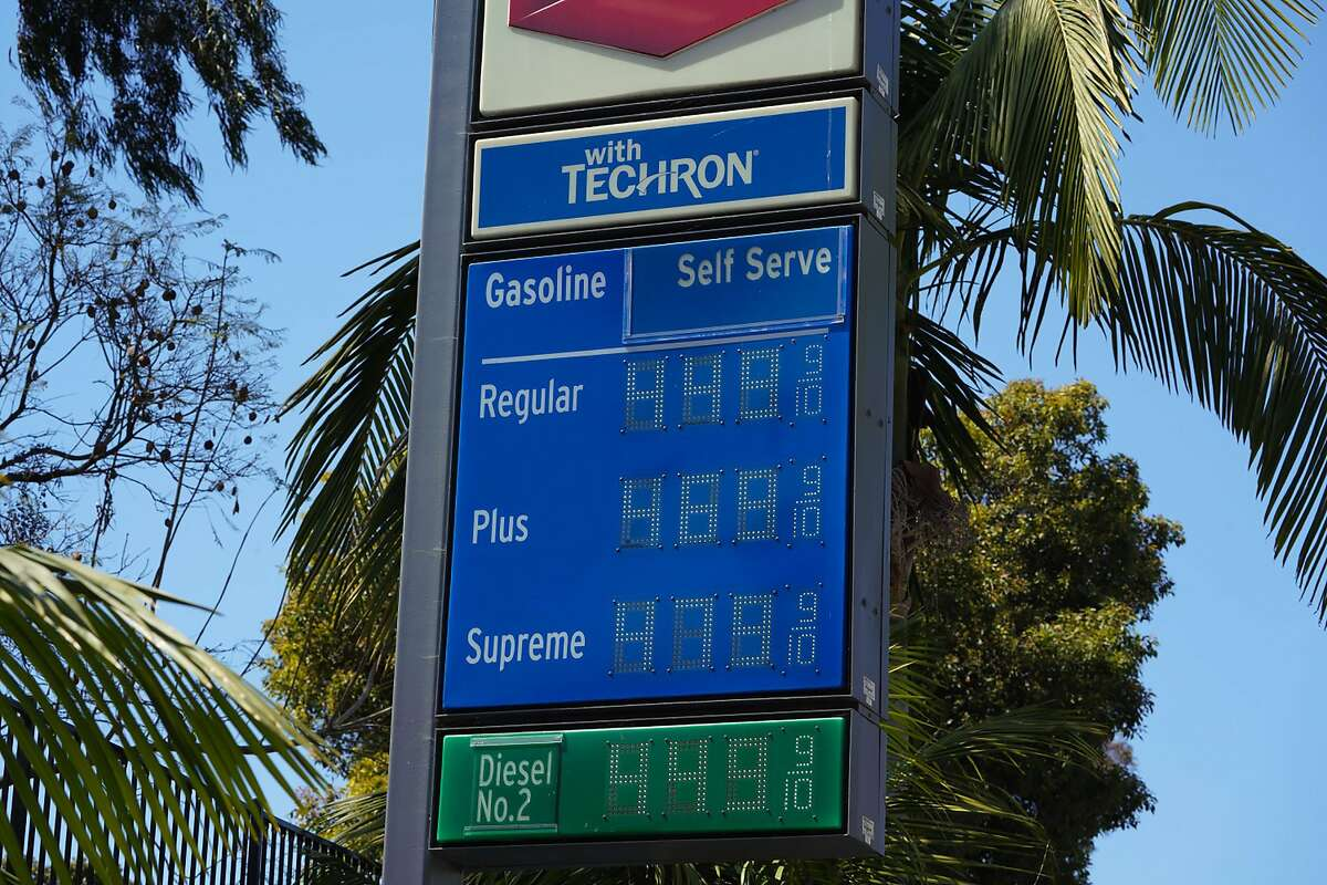 Gasoline delivery was disrupted starting May 7, 2021, due to a cyberattack on the Colonial Pipeline. As of May 8, gas prices had not surged as a result of the ransomware attack. (Nelvin C. Cepeda/San Diego Union-Tribune/TNS)