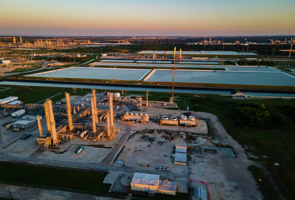 The Lone Star NGL facility is one of scores of sites in Mont Belvieu where property values are artificially capped under Texas' Chapter 313 program, saving companies millions of dollars.