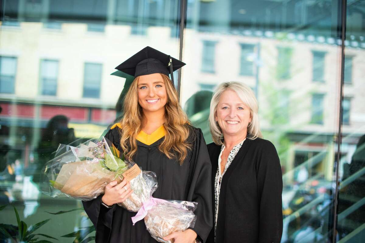 Were you seen at one of The College of Saint Rose's three commencement ceremonies May 7 and 8, 2021, at the Times Union Center in Albany, N.Y.?