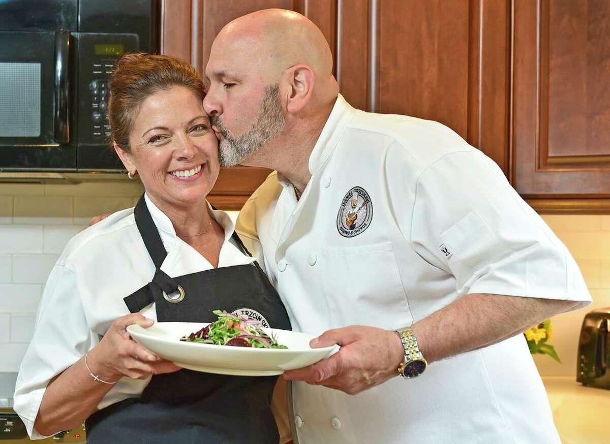 Daniel Trzcinski, of Shelton, a chef, musician and culinary arts teacher, has created a business,