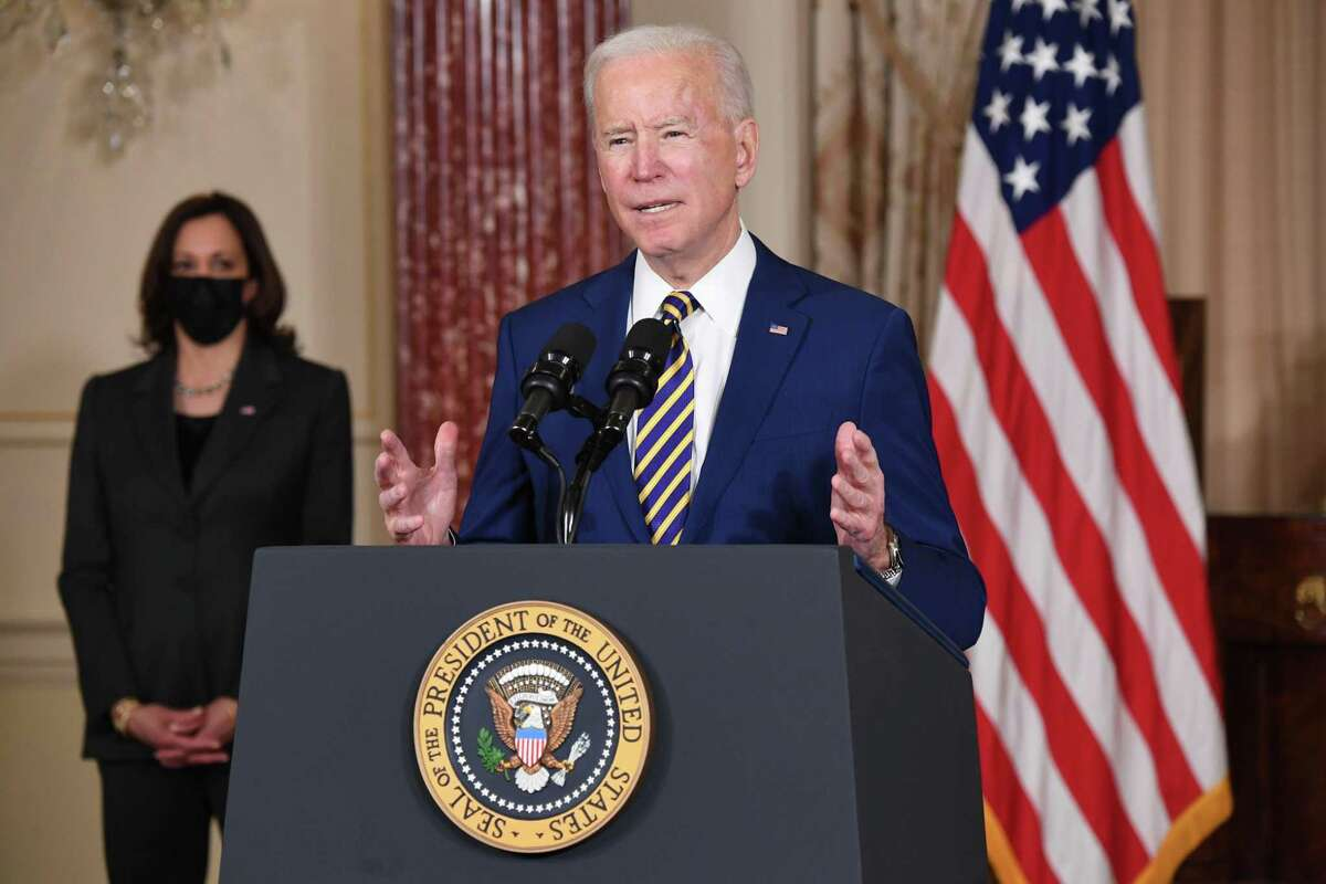 With Democrats turning to the rest of President Joe Biden's agenda after using a fast-track budget process to get his $1.9 trillion stimulus through the Senate, outside liberal groups are pressing hard for an end to the filibuster. (Saul Loeb/AFP/Getty Images/TNS)