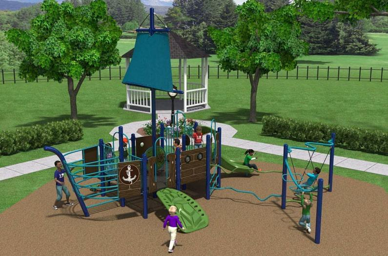 Construction on the new, improved Huffington Park begins next week