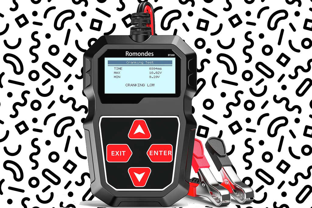 Romondes car battery tester is $18.89