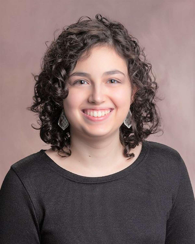 Giuliana Judge of Killingworth is salutatorian of Mercy High School's class of 2021.