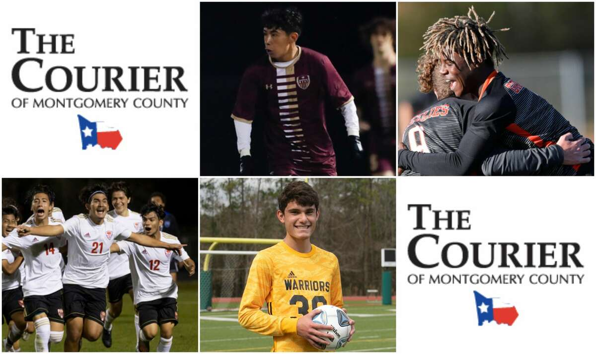 Saul Flores (Magnolia West), Ramiere Johnson (Grand Oaks), Mario Leon (Caney Creek) and Bruno Babato (TWCA) are nominees for The Courier's Newcomer of the Year.