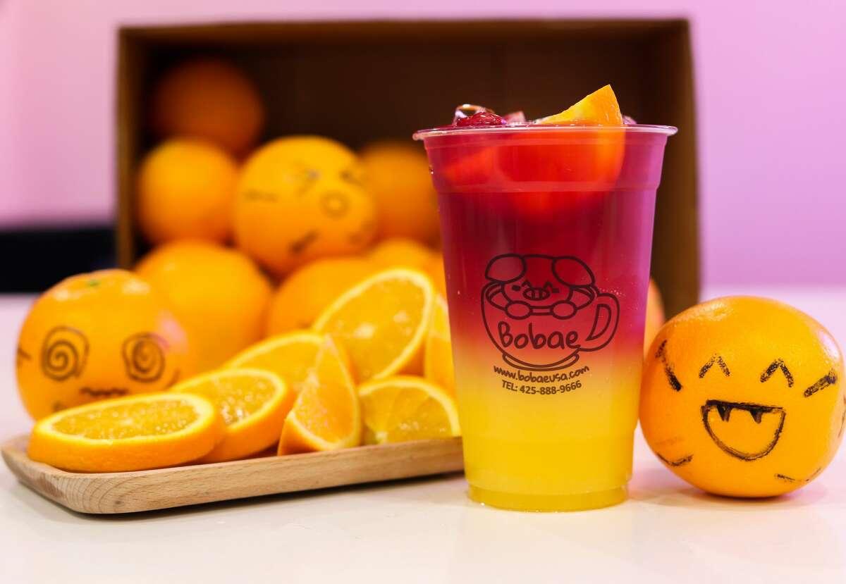 Orange Sunset Bobae