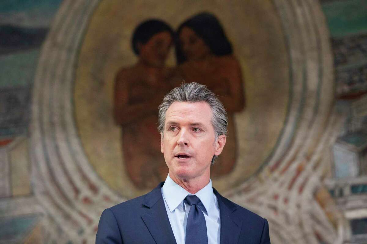 Gov. Gavin Newsom proposes a new round of stimulus checks and rent relief for the state's budget surplus.
