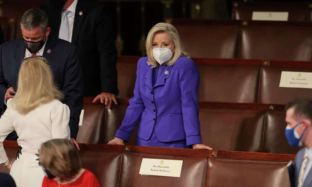 Rep. Liz Cheney, R-Wyo., stands alone at the Capitol and within her party. While she has called out former President Donald Trump's election fraud law, she should come to grips with other lies she promoted.
