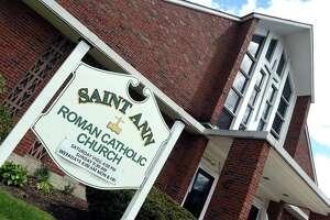 Saint Ann Roman Catholic Church in Milford photographed on May 10, 2021.