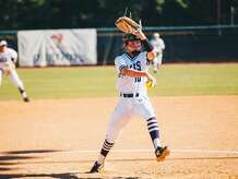 SFA junior pitcher Kassidy Wilbur was named on Monday as the SLC Softball Player of the Year.