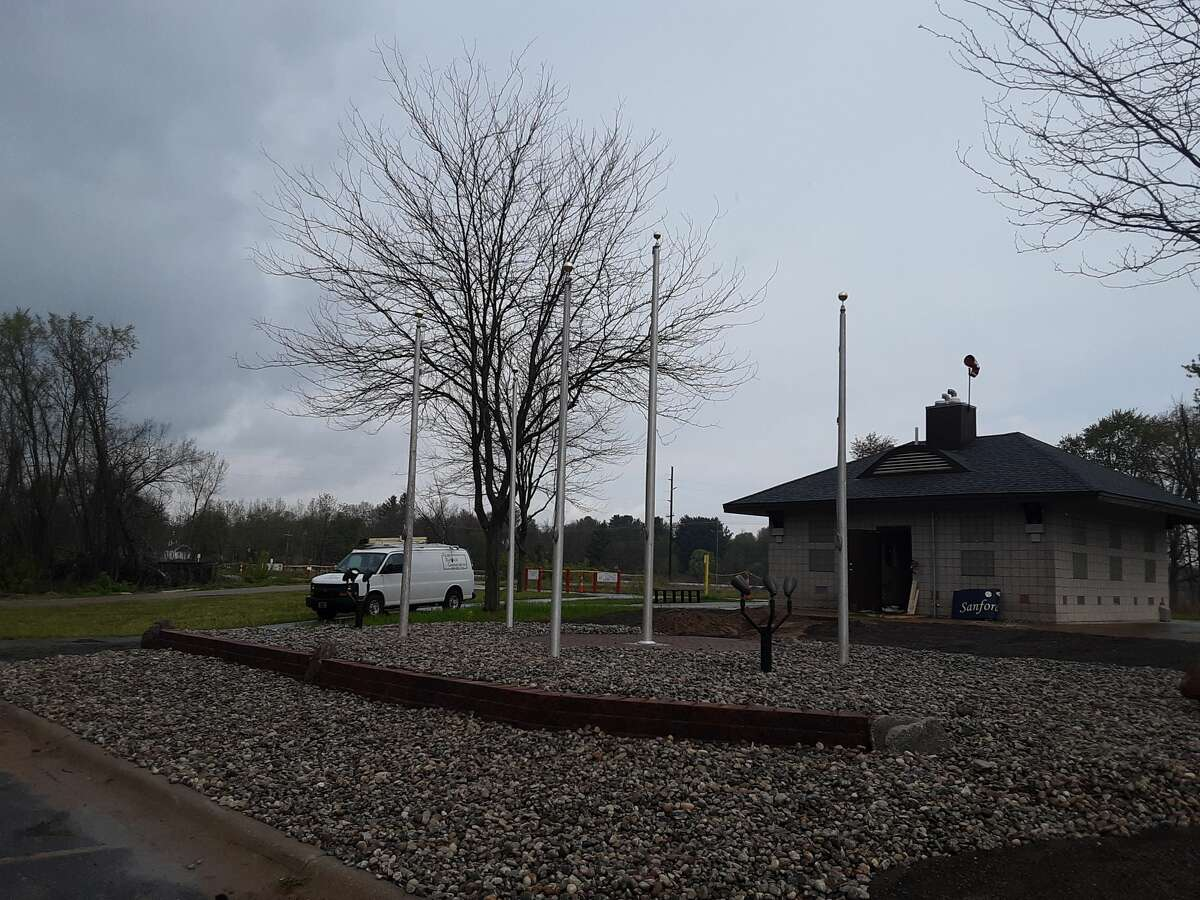The Sanford Veterans Monument and First Responders Monument will be dedicated at 5:30 p.m. Wednesday, May 19.