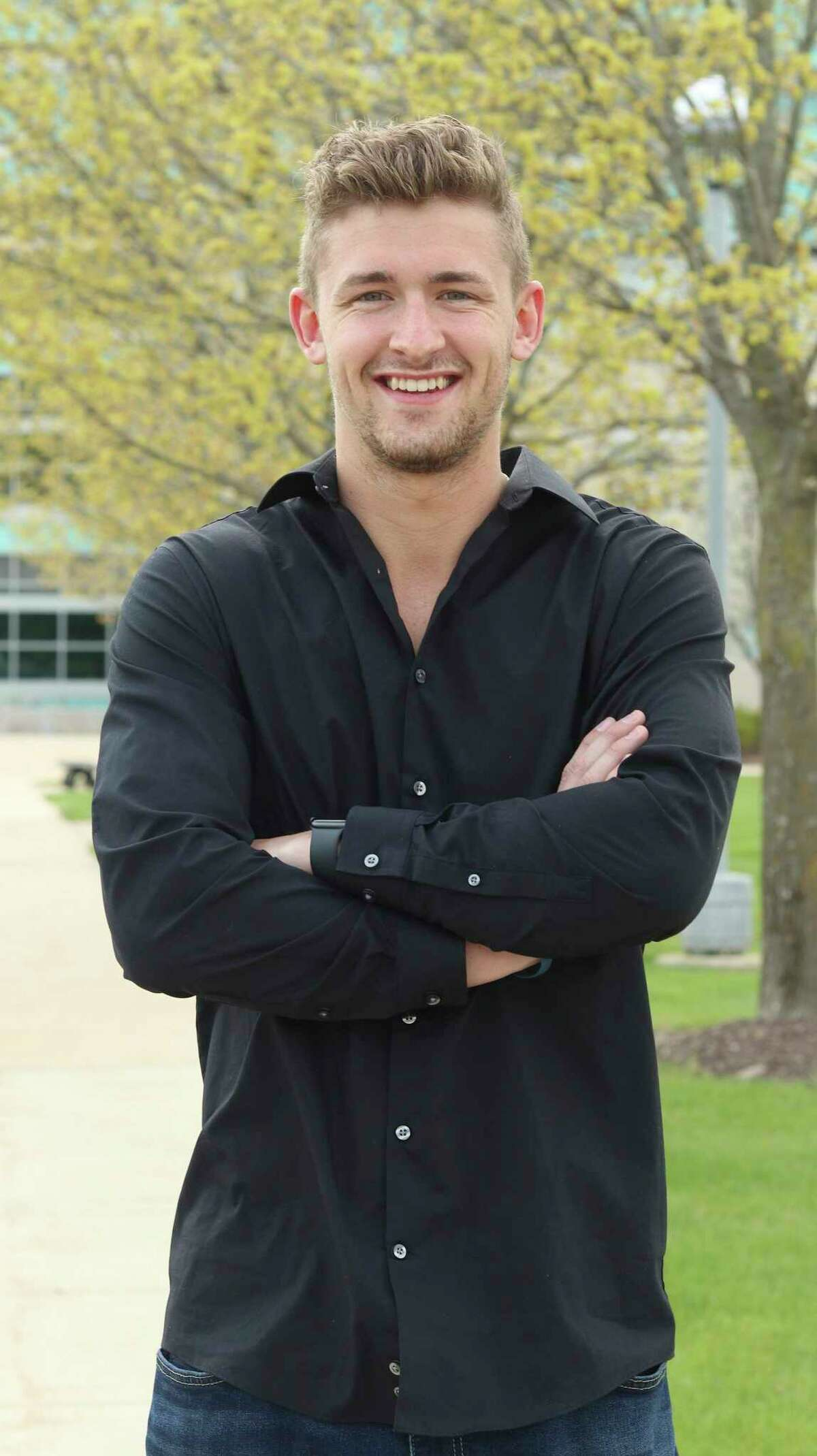 Tyler Dard, of Stanwood, graduated May 1 with a bachelor's inbusiness management from Ferris State University. (Courtesy photo)