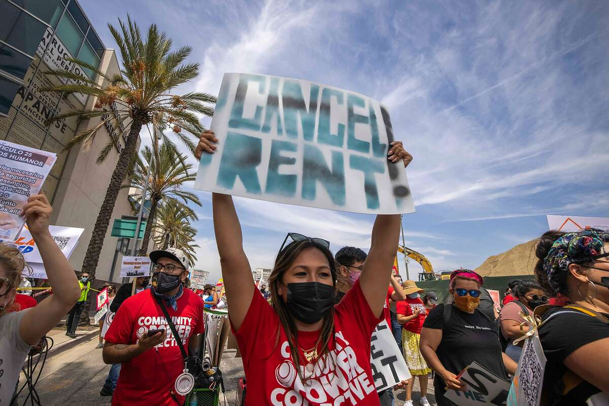 $2.6 billion in new rent relief funding was announced Monday by California's governor.