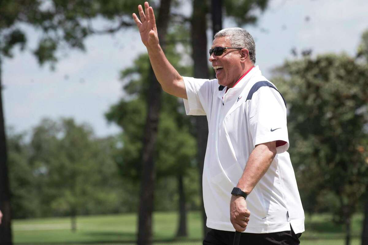 Houston Texans head coach David Culley will make his debut against Jacksonville on Sept. 12 in the season opener.