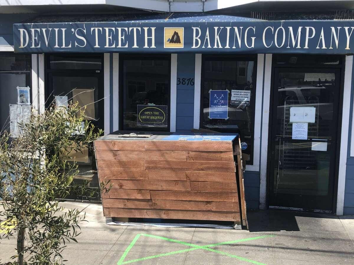 When popular bakery Devil's Teeth put up an