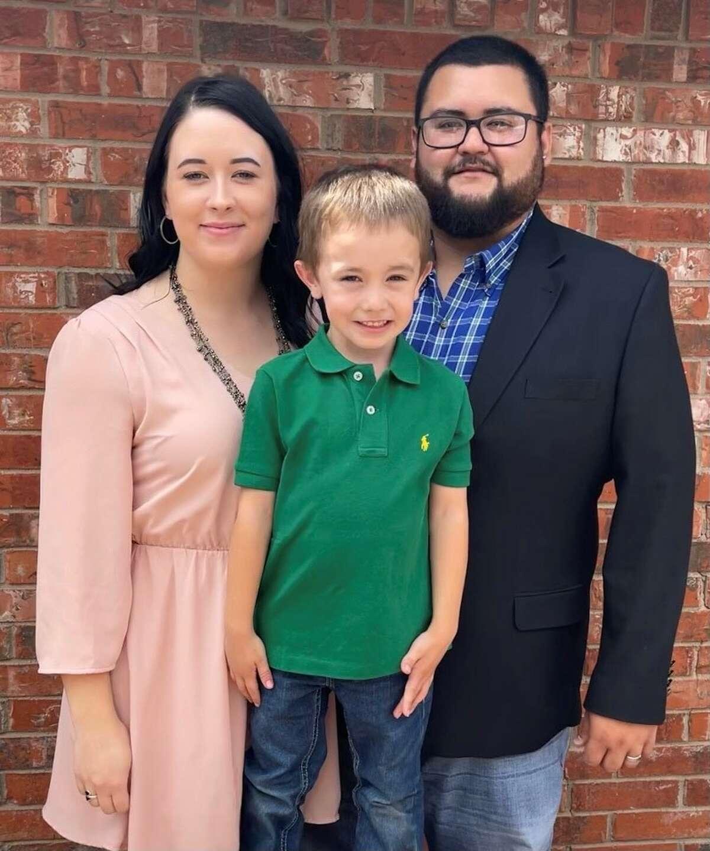 Natalie & Juan Gomez with their son Rylan