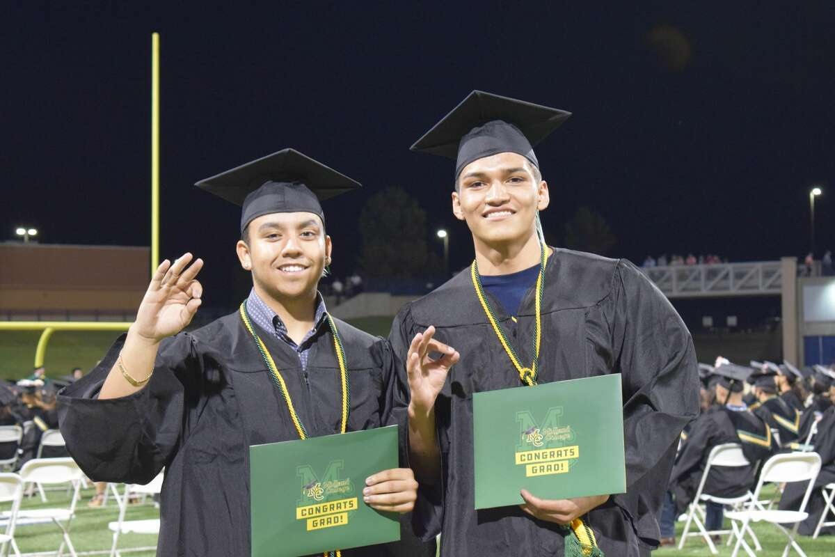 Midland College held its 47th commencement ceremony at the Scharbauer Sports Complex, Grande Communications Stadium.Approximately 600 graduates participated in the ceremony.