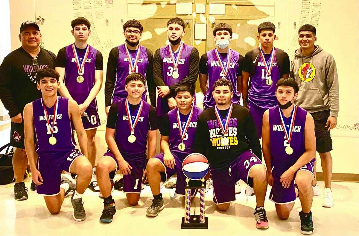The LBJ travel team earned its second title of the season last weekend as the Wolves went 3-0 to win the 2 Genes Basketball Tournament in San Antonio.