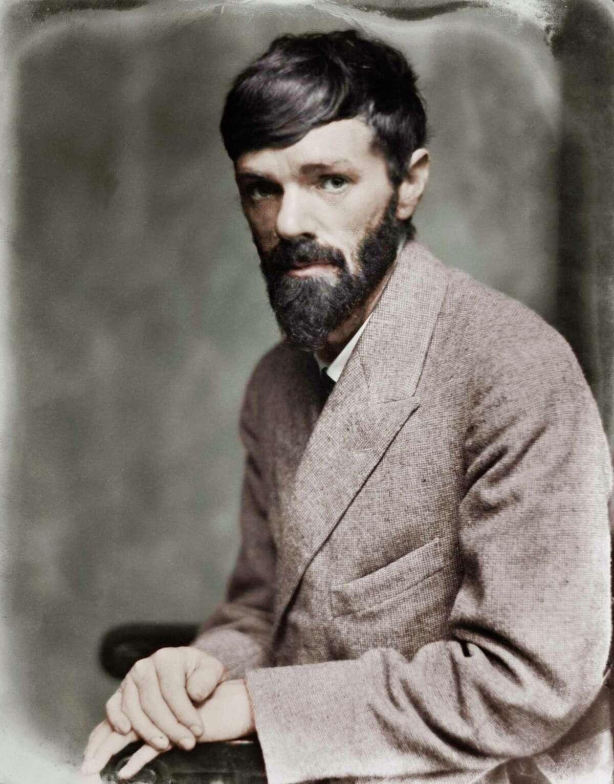 D.H. Lawrence, circa 1900 (1885-1930).