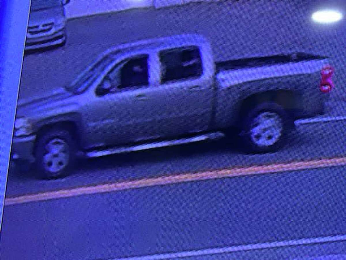 Shelton Police are seeking the public's help in identifying a suspicious motor vehicle, pictured above, the occupants of which were throwing frozen water bottles at other vehicles last week.