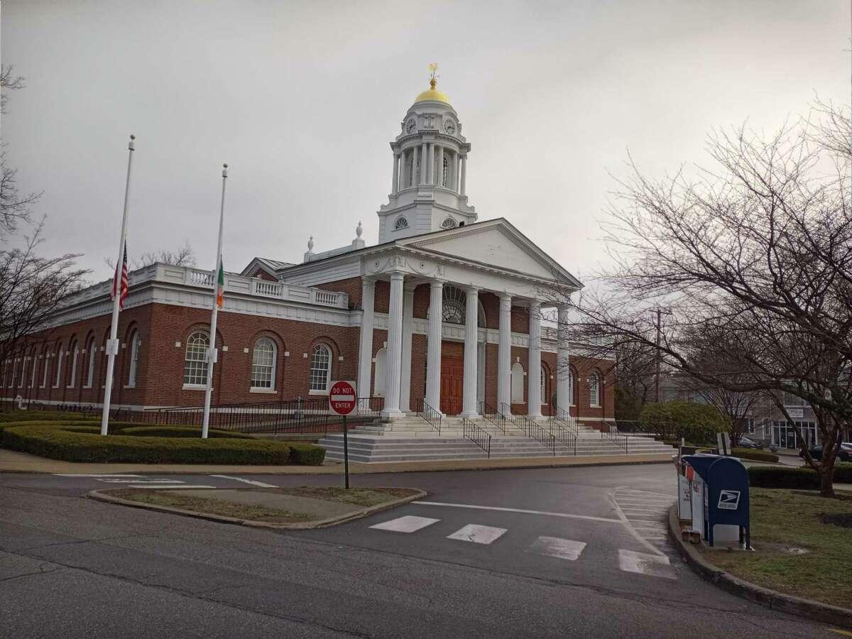 Milford City Hall, Spring 2021