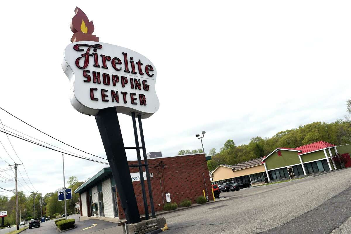 The Firelite Shopping Center in Orange on May 4, 2021.