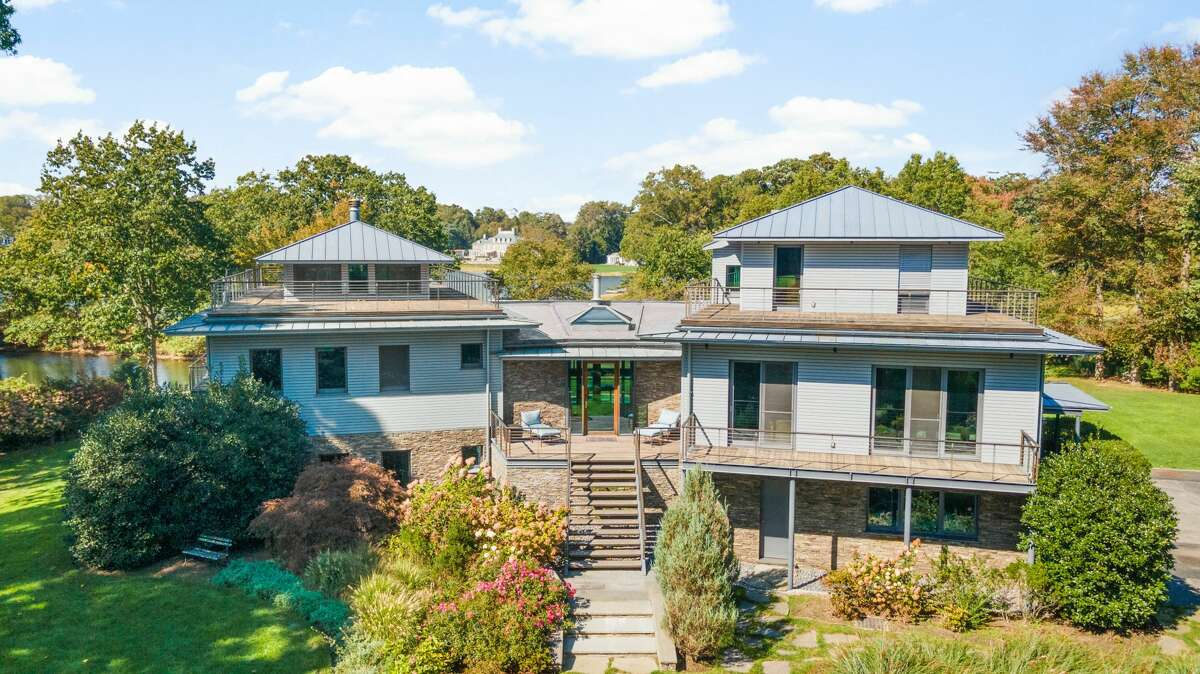 The house at 6 Windrose Way in Greenwich is on the market for $15,750,000.
