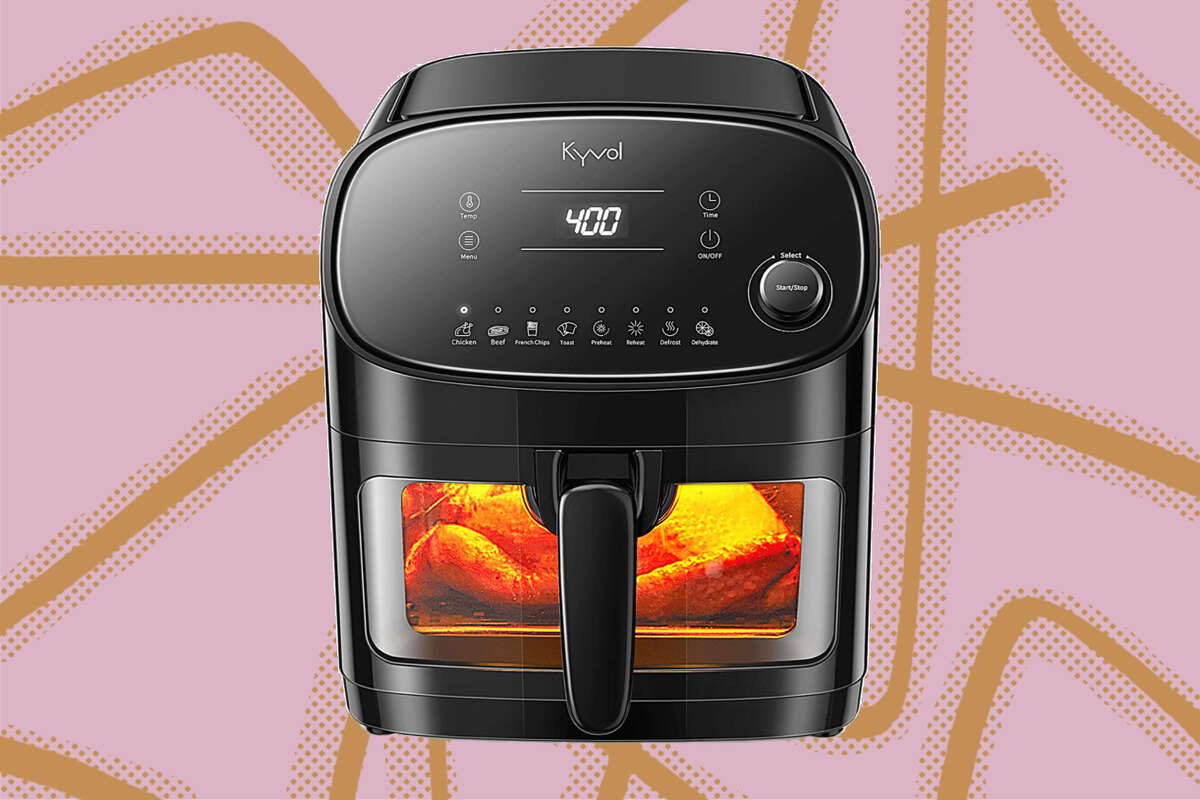 Kyvol Air Fryer, $89.99 when you clip the $20 off coupon on Amazon
