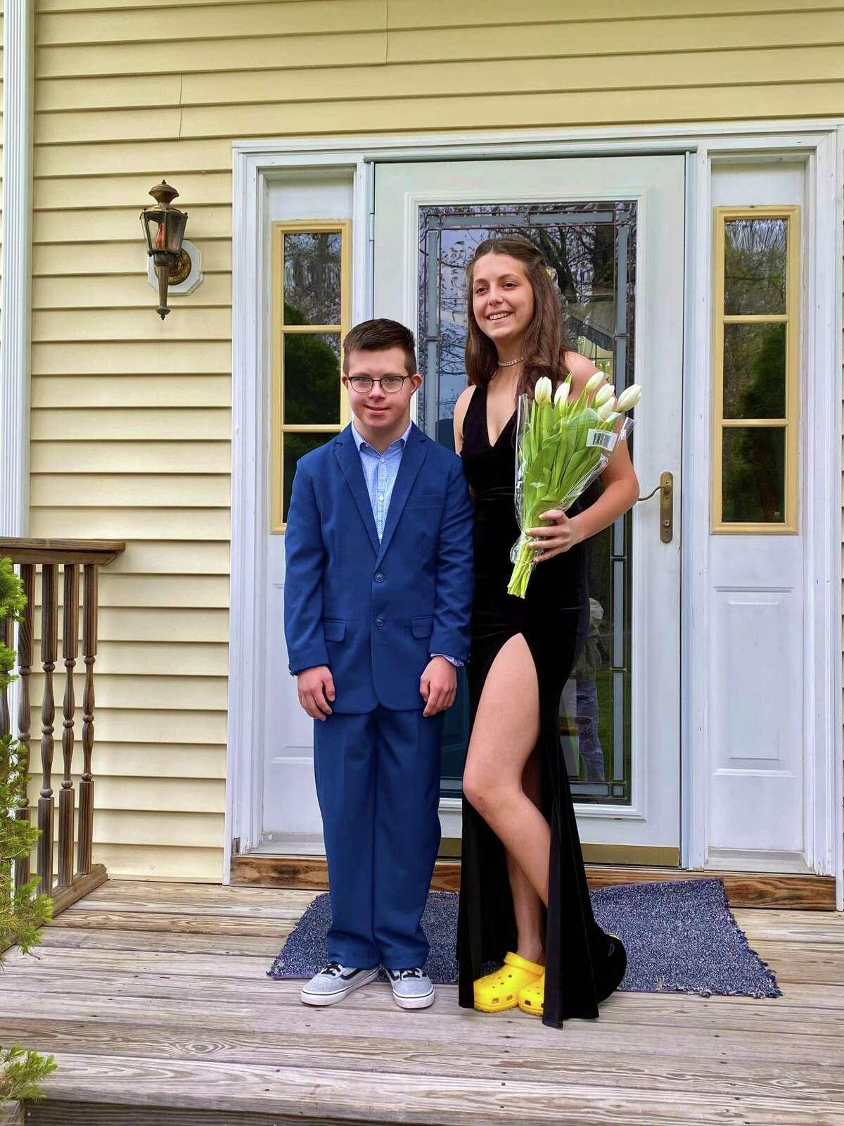 Connor Dawson and Christina Pascento