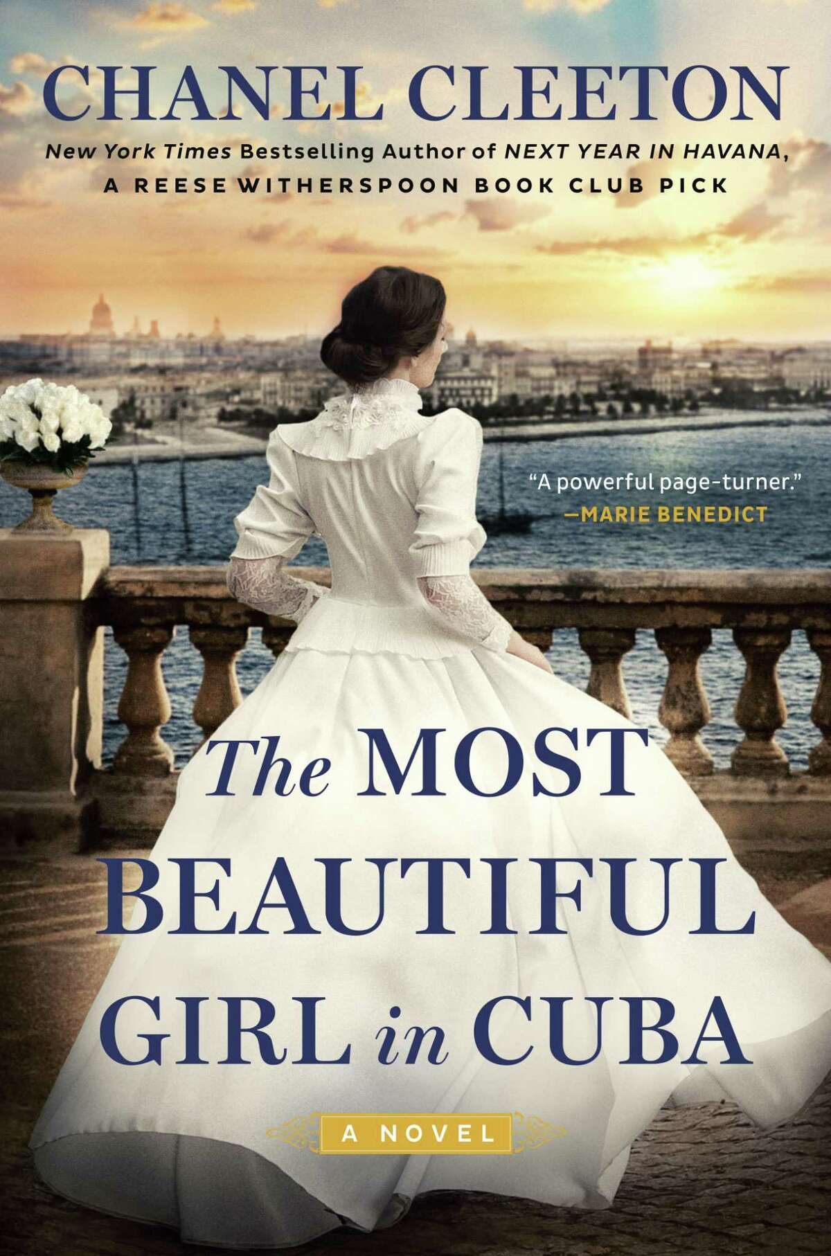 """""""The Most Beautiful Girl in Cuba"""" by Chanel Cleeton."""