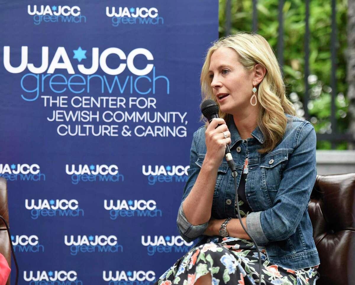 Author Lauren Weisberger spoke about her novel