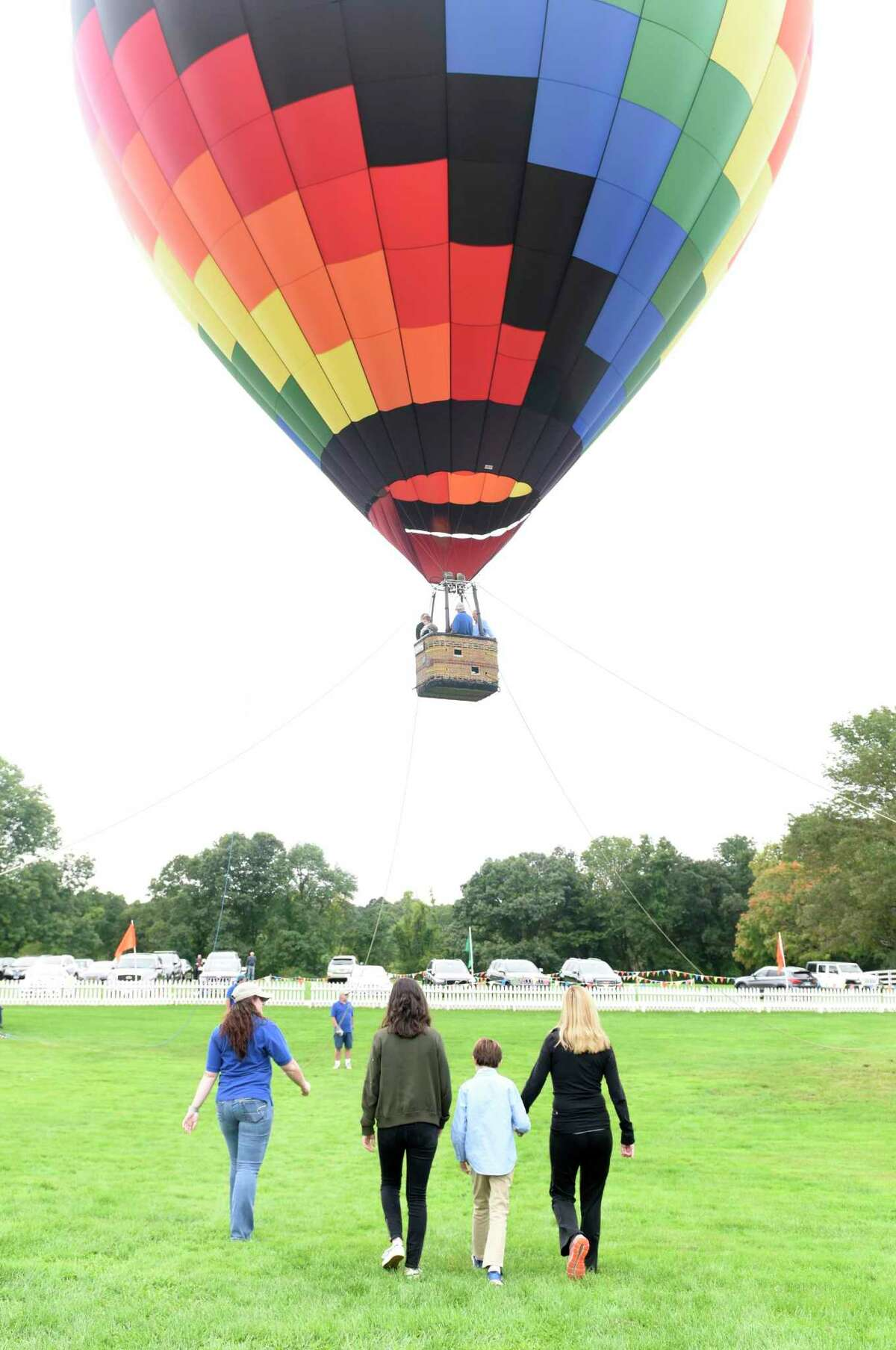 Mick Murphy said he's formed many friendships he might not have otherwise had through flying hot air balloons.