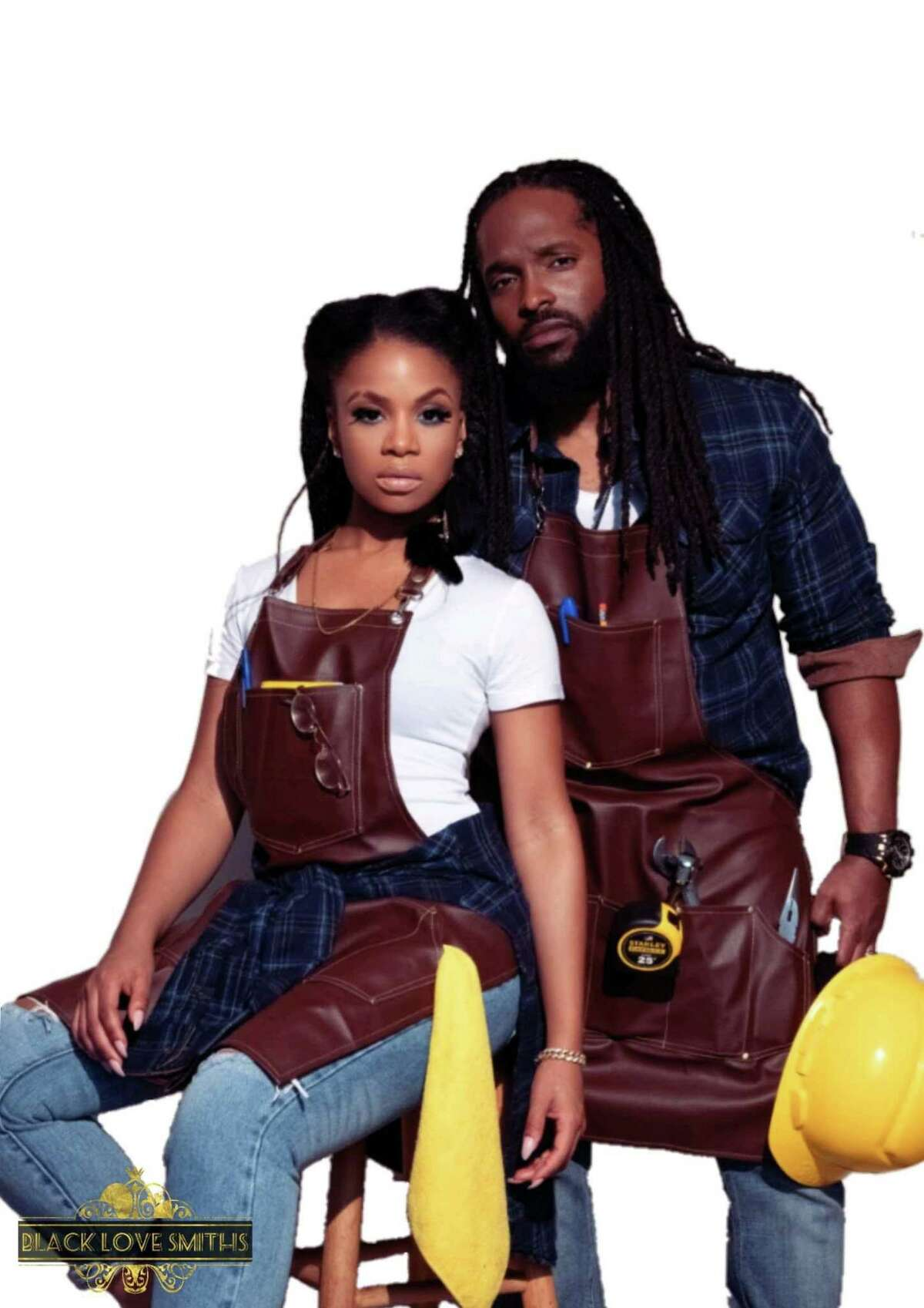 The BlackLoveSmiths is a Hartford-based music duo.