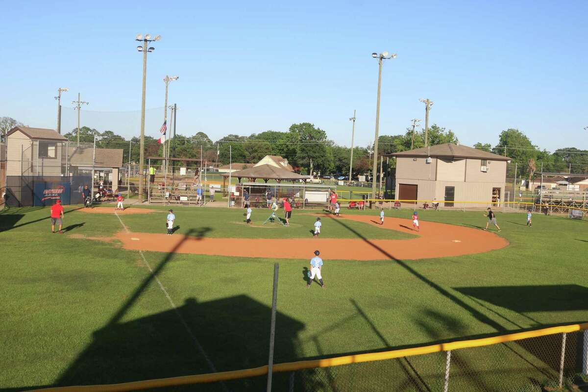 Dormant for a year, Bayside Area Little League's machine pitch field once again is dotted with young players.