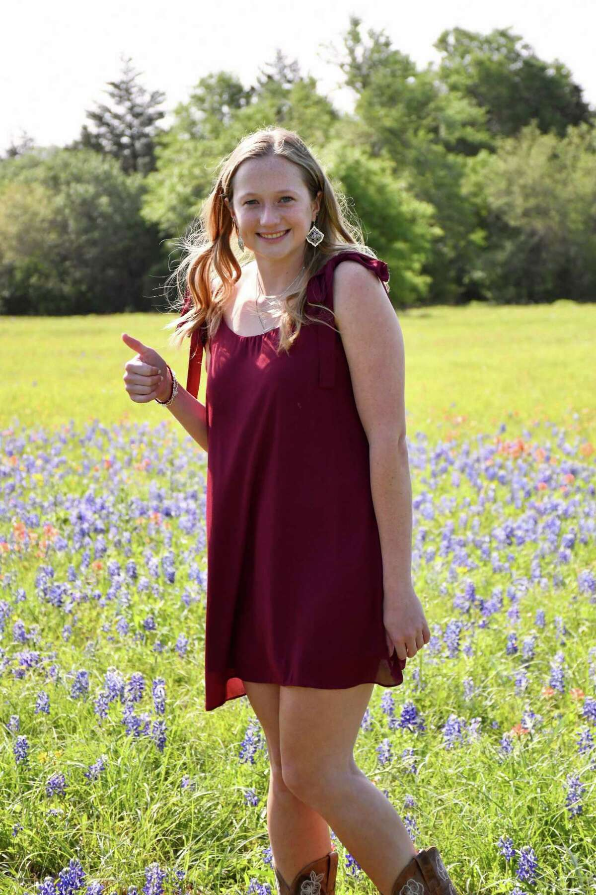 Riley Hull is graduating from Katy High School and has been selected as a recipient of the 2020-21 Katy Area Retired Educators Scholarship.