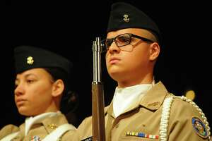 The Bridgeport Military Academy graduation at the University of Bridgeport in Bridgeport, Conn. on Friday, June 22, 2018.