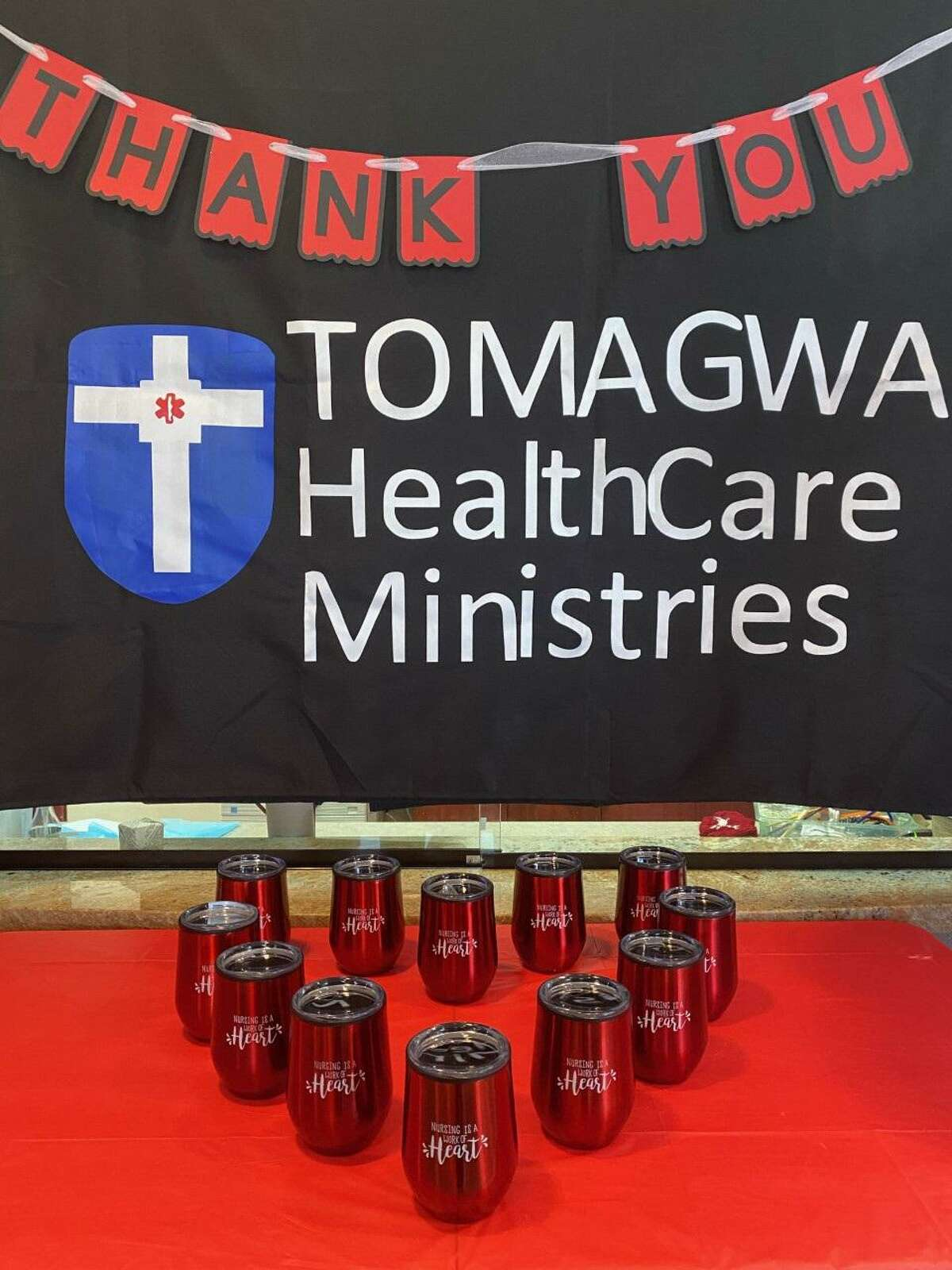 TOMAGWA HealthCare Ministries celebrated Nurses Week, May 6-12, by decorating their locations, passing out treats, fun tumblers, decorated cookies, and sharing words of thanks for the blessing that their nurses are.
