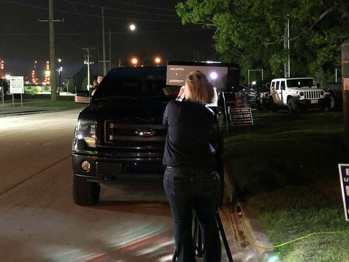 USW Local 13-243 demonstrated Monday night, as they have since the lockout began.