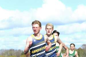 The Manistee track and field team, both the boys and girls, are undefeated in Lakes 8 Conference dual meets heading into Friday's conference championship meet. (Dylan Savela/News Advocate)
