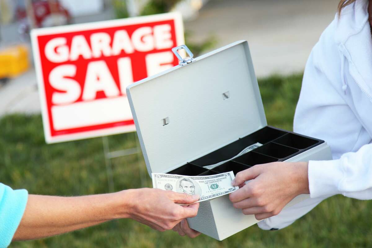 Spring cleaners, if you're looking to clear out clutter and make some extra cash consider a garage sale.