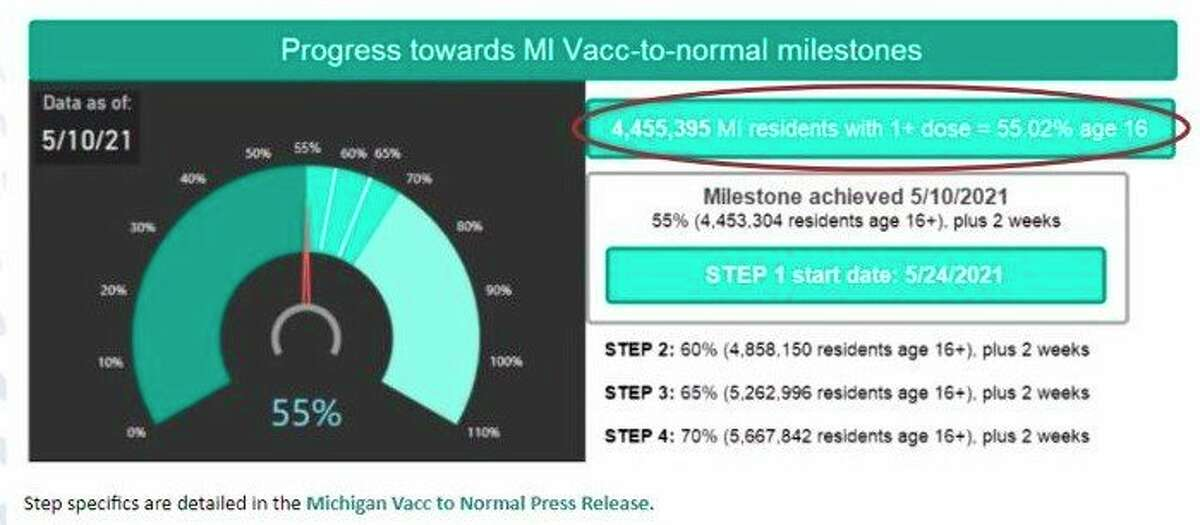 With over 50% of Michigan residents having received the first dose of a COVID-19 vaccine, Munson Healthcare officials are looking to continue increasing their outreach efforts with a pair of virtual townhalls this month. (Courtesy Screenshot)