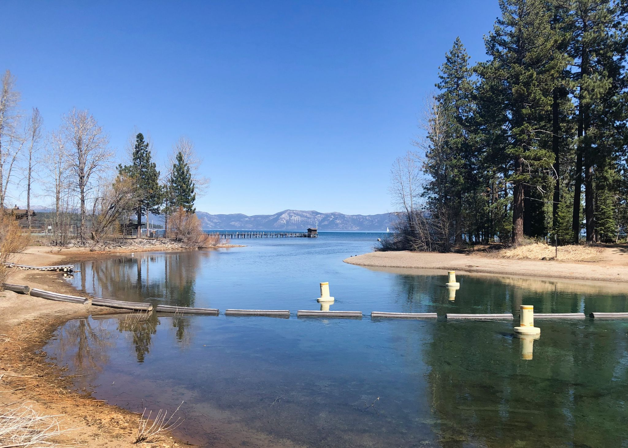 Amid drought, Lake Tahoe's water levels are lowest in five years