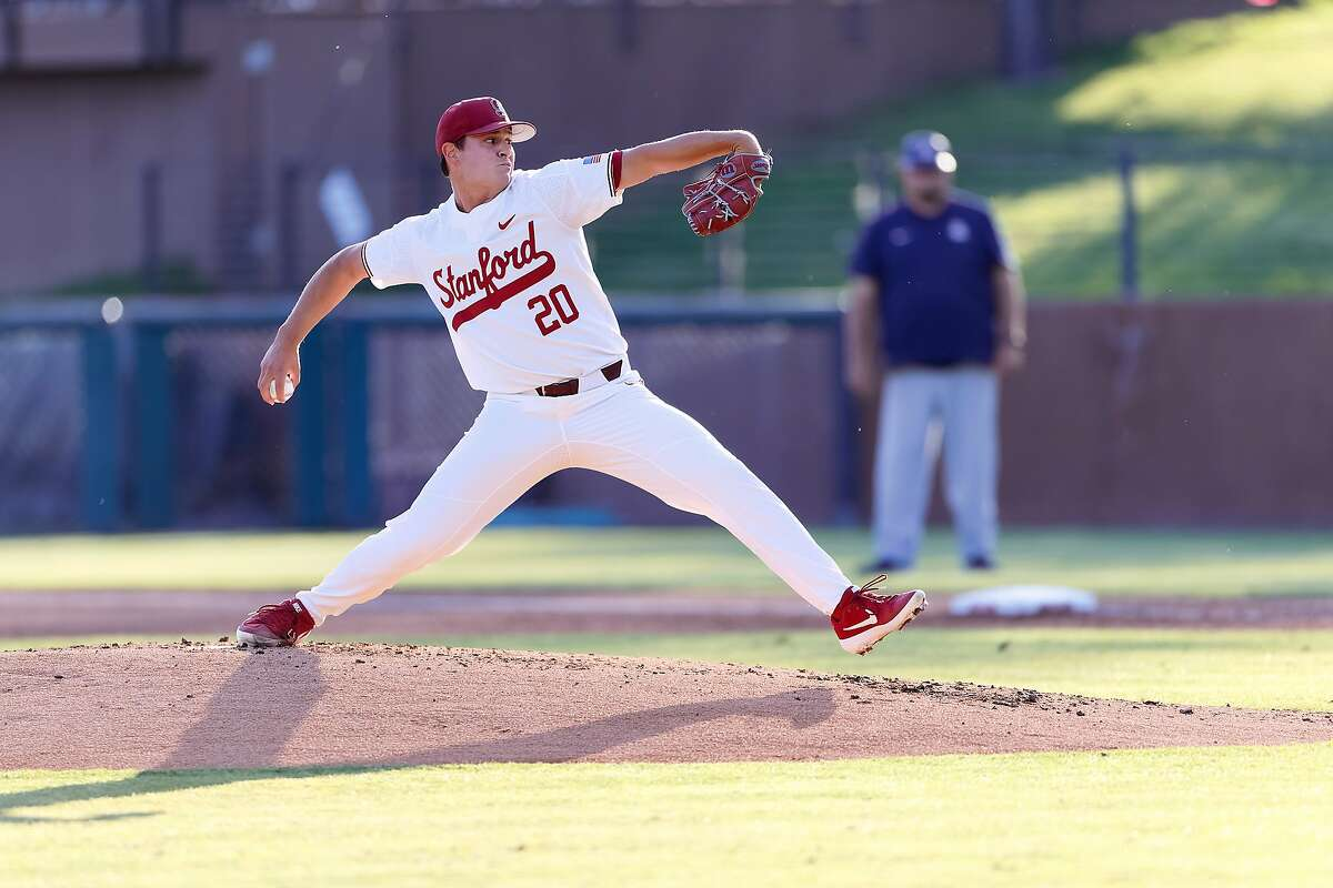Stanford's Brendan Beck leads the Pac-12 in innings pitched (86) and is tied for first in strikeouts (106).