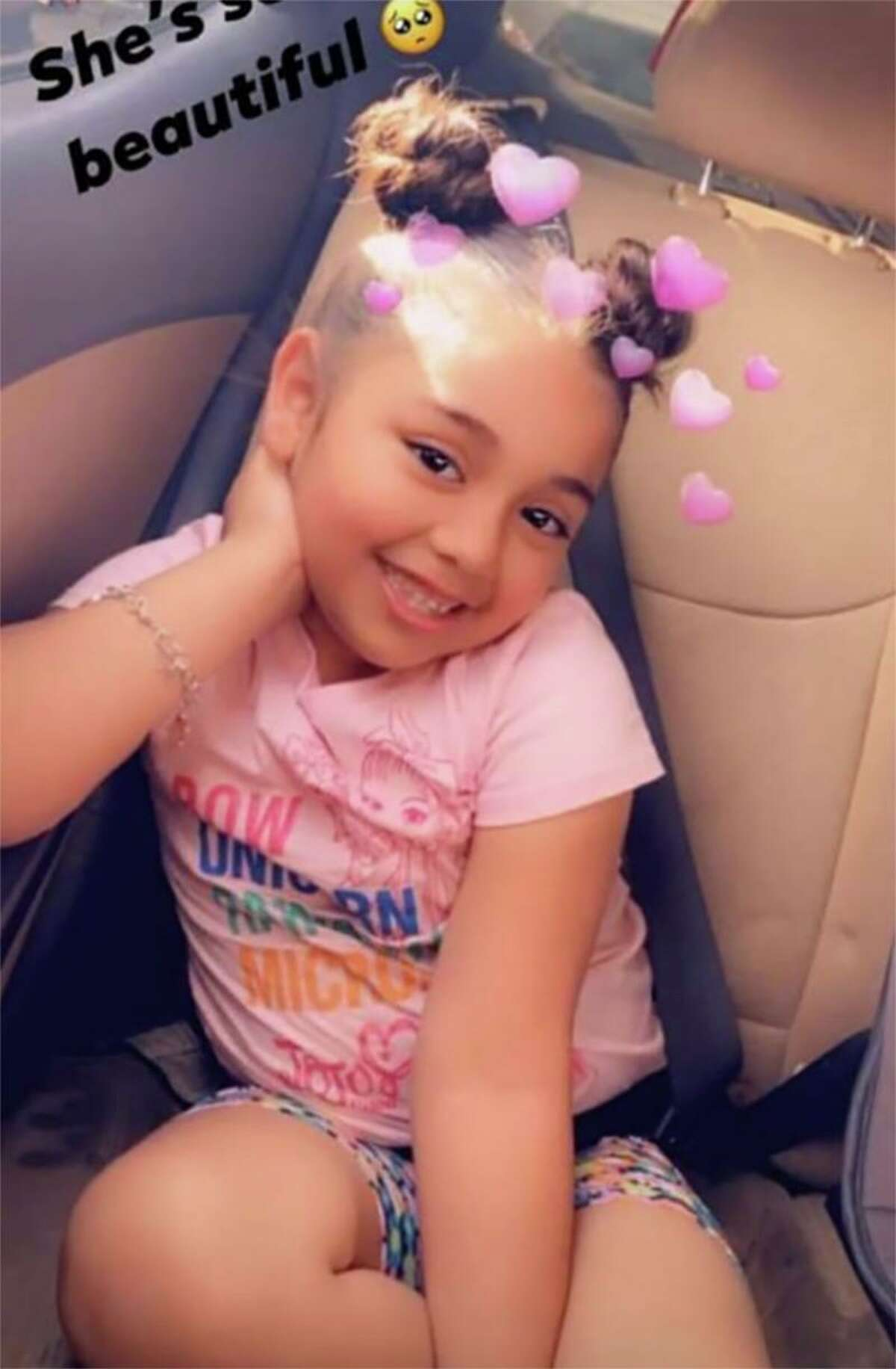 Saryah Perez, 6, was killed in a shooting Sunday, another victim in the gun violence epidemic.
