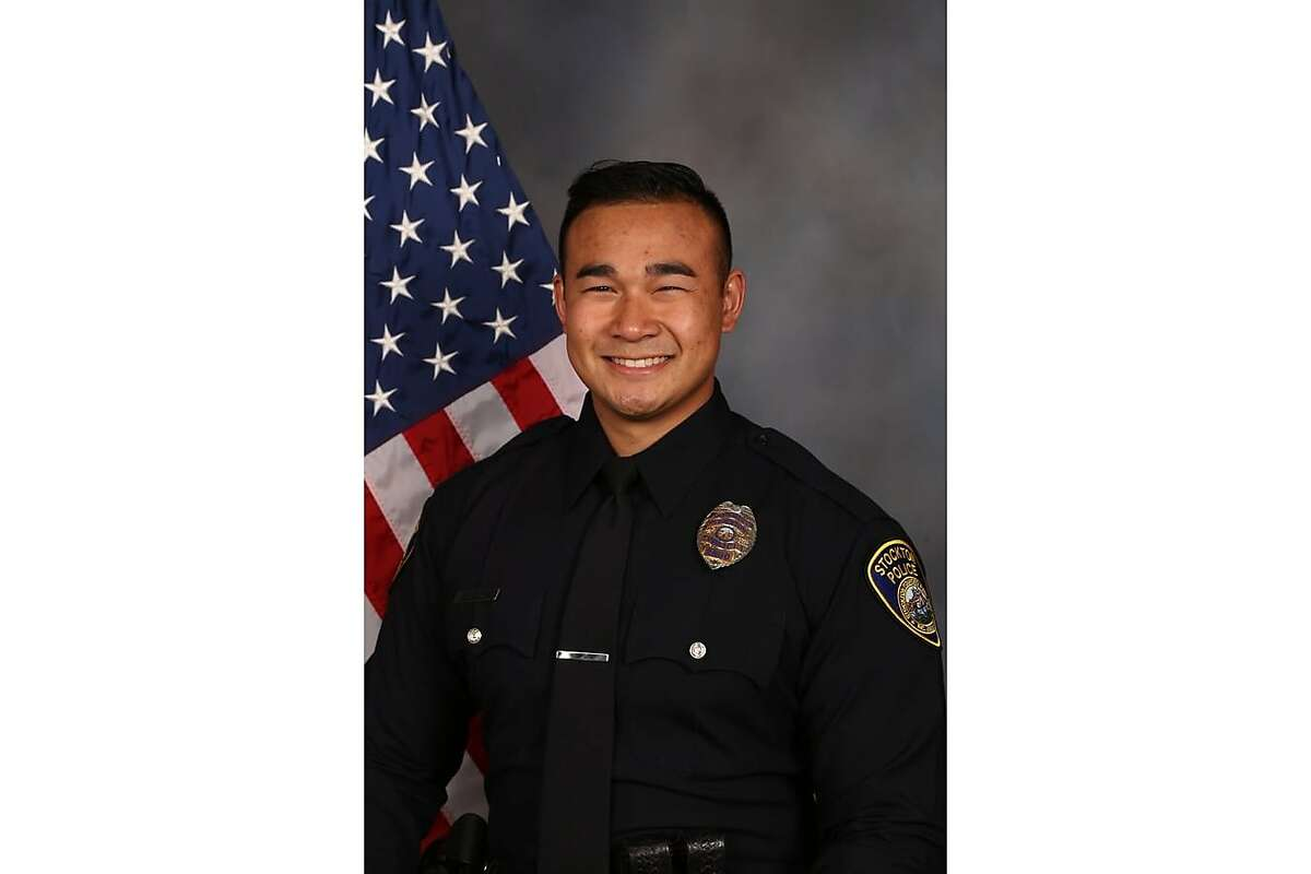 Stockton police Officer Jimmy Inn, 30, was fatally shot while responding to an incident on Tuesday, May 11, 2021, according to Stockton Police Department.