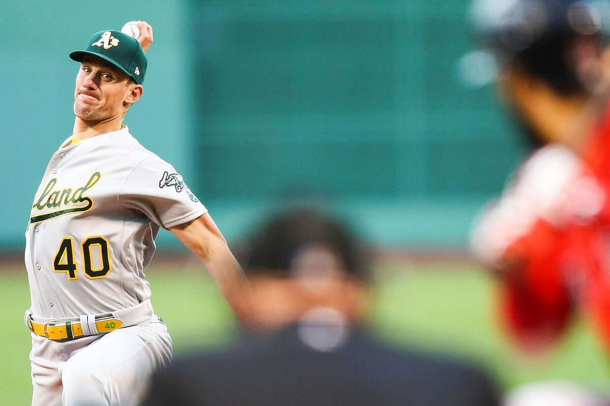 A's starting pitcher Chris Bassitt struck out 10 and limited the Red Sox to three hits in seven innings in his Fenway Park debut.