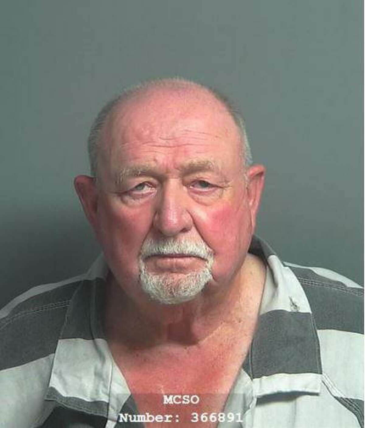 Rolf Meier, 76, of Montgomery, is being charged with animal cruelty, a third-degree felony,